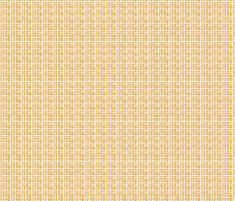 Custom Knit Fabric : Hand Knit - 03 Wheat fabric - katvanwin - Spoonflower