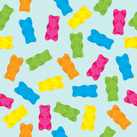 gummibear fabric by maryellenmouse on Spoonflower - custom fabric