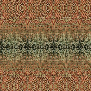 Tapestry Christmas - Antique Red and Green