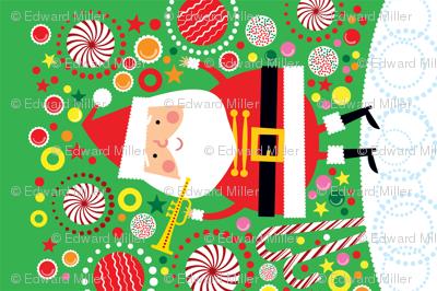 Santa Candy Wall Hanging