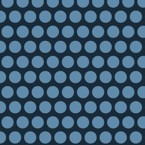 town blue spot fabric by scrummy on Spoonflower - custom fabric