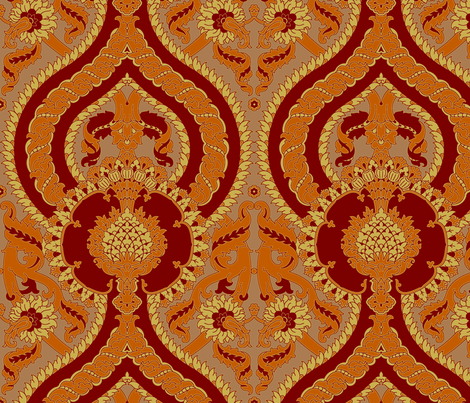 Serpentine 902a fabric by muhlenkott on Spoonflower - custom fabric