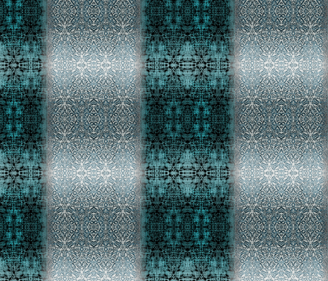 Cerulean Blue and White fabric by wren_leyland on Spoonflower - custom fabric