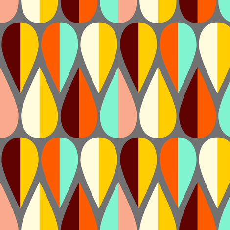 fetching fletching fabric by nadiahassan on Spoonflower - custom fabric