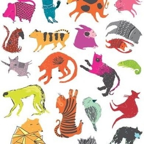 Strange Beasts Multi-colour