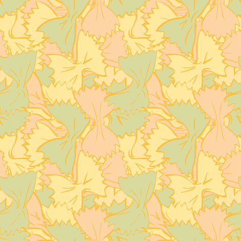 Farfalle color fabric by mariapaula on Spoonflower - custom fabric