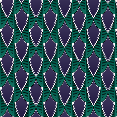 Feathery fabric by jadegordon on Spoonflower - custom fabric