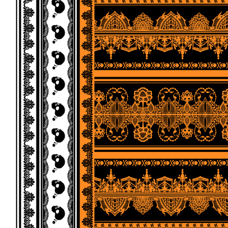 Spooky Border 1 fabric by jadegordon on Spoonflower - custom fabric