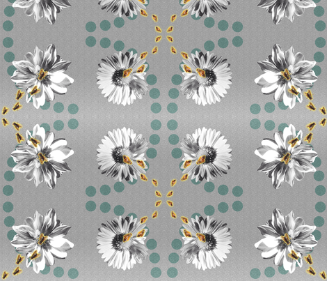 Cross pollination fabric by jammin on Spoonflower - custom fabric