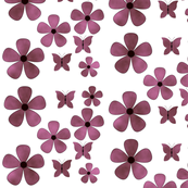 cloud _mauve_flower_butterflies