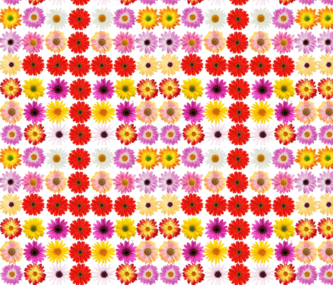Floral cross fabric by heaven-lee on Spoonflower - custom fabric