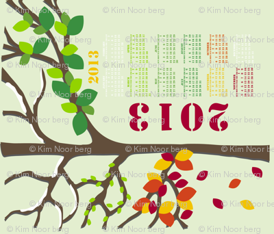 Four Seasons Tree 2013 Calendar