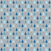 Rrain_drop_blue_on_grey