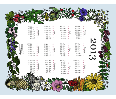 Wildflower_Tea_Towel_2013