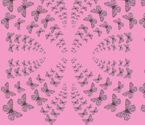 butterflies1 fabric by heaven-lee on Spoonflower - custom fabric