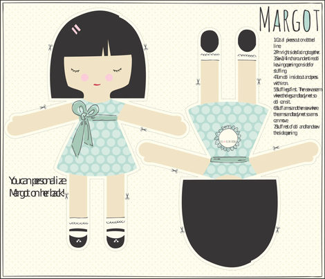 MARGOT fabric by stacyiesthsu on Spoonflower - custom fabric