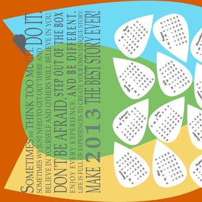 Inspiring Words 2013 Calendar