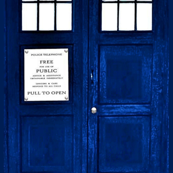 Doctor Who Inspired TARDIS Decal or Fabric