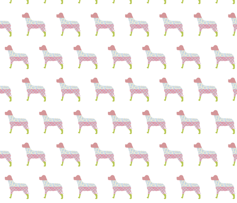 Patchwork Dogs fabric by sandradesign on Spoonflower - custom fabric