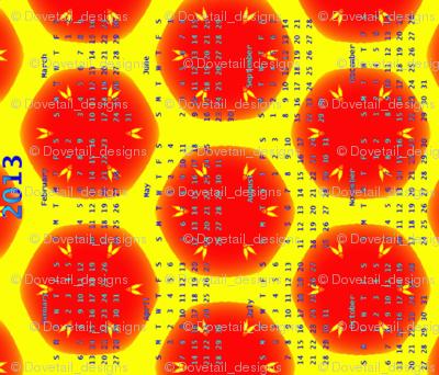 2013 Calendar - Busy Bees 2