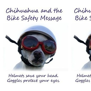 Chihuahua and the Bike Safety Message