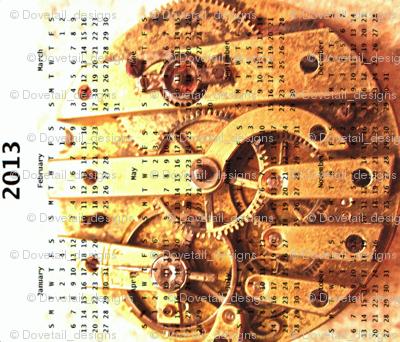 2013 Calendar - On Paris Time