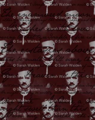 Edgar Allan Poe ~ Israfel ~ Poem on Portrait