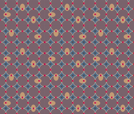 tweed vs jams fabric by melachmulik on Spoonflower - custom fabric