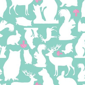 Woodland Animals Small Mint