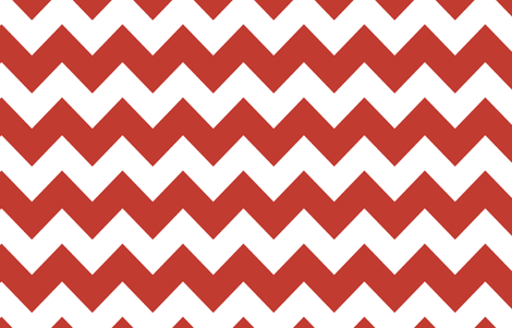 Woodland Chevron Red