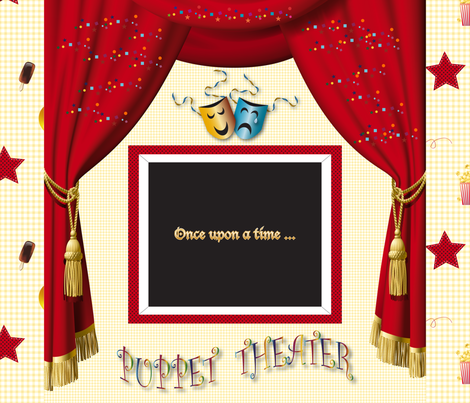 fabric_theater fabric by vannina on Spoonflower - custom fabric