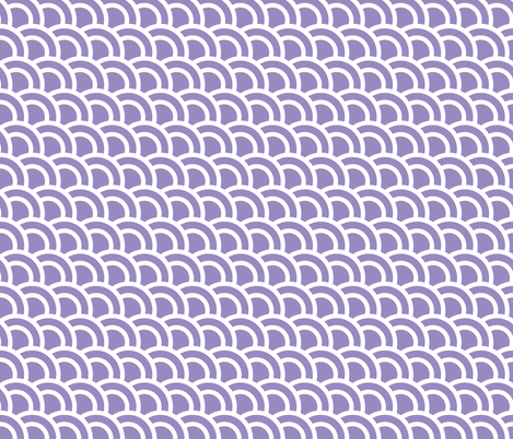 Double scales in mauve - skewed fabric by little_fish on Spoonflower - custom fabric