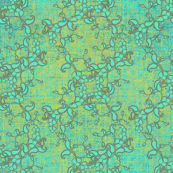 Paisley Texture antique aqua
