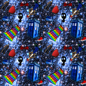 Doctor Who Inspired Galaxy