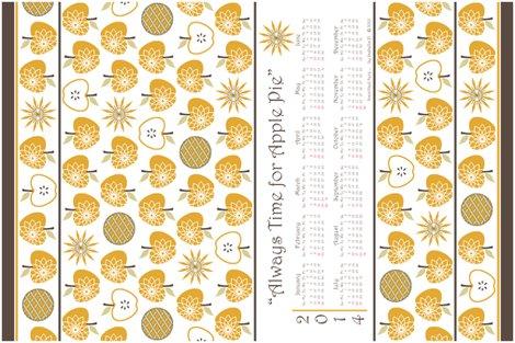 Always_time_for_apple_pie_2014_calendar_-_retro_gold_final_shop_preview