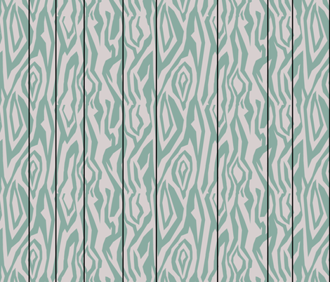 Teal Paneling fabric by pond_ripple on Spoonflower - custom fabric