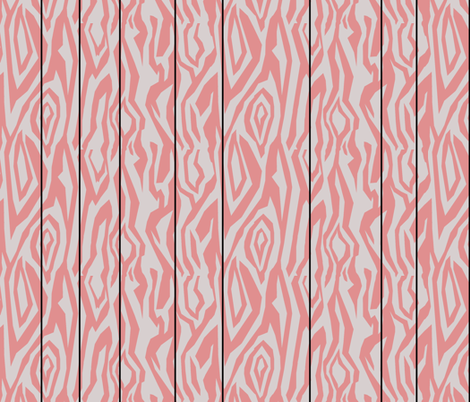 Pink Paneling fabric by pond_ripple on Spoonflower - custom fabric