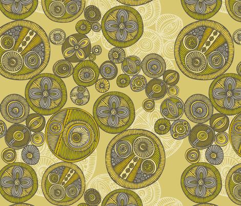 Circles fabric by valentinaharper on Spoonflower - custom fabric