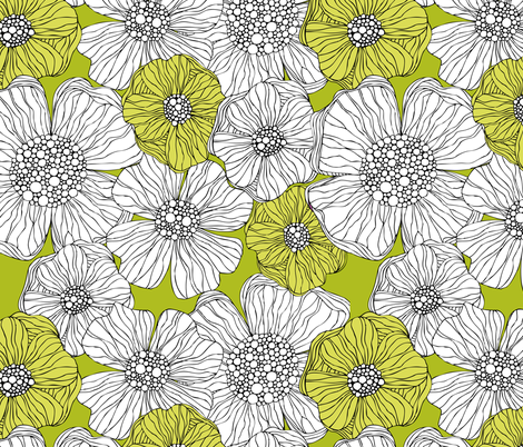 evelyn fabric by valentinaramos on Spoonflower - custom fabric