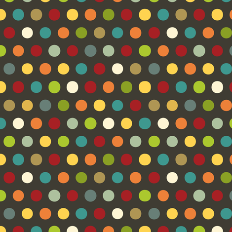 comic mini dot steel fabric by scrummy on Spoonflower - custom fabric