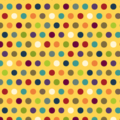 comic mini dot yellow