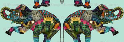 asian elephant aqua II
