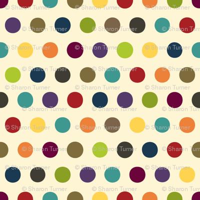 comic mini dot cream