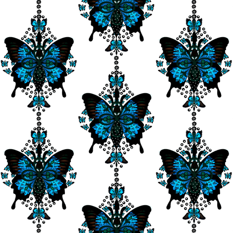 French Butterfly fabric by paragonstudios on Spoonflower - custom fabric