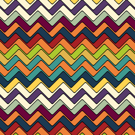 hero chevron fabric by scrummy on Spoonflower - custom fabric