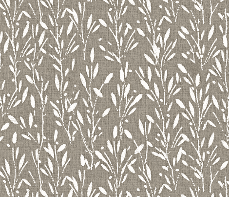 Olive Grove - Natural fabric by kristopherk on Spoonflower - custom fabric