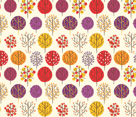 Foliage fabric by friedbologna on Spoonflower - custom fabric