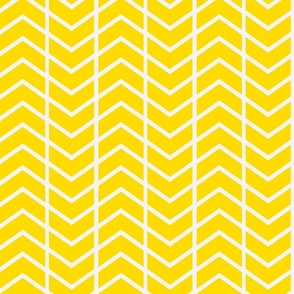 chevron stripe in gold-ed