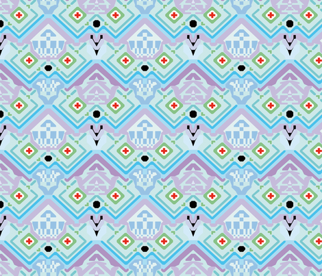 Aztec Jackson fabric by holly+james on Spoonflower - custom fabric