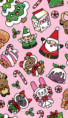 Kawaii Christmas Party -Bubble Gum